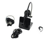 Plantronics C054A DECT Wireless Office Headset System - with accessories